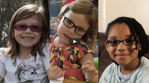 still photo of three girls screened by FocusFirst